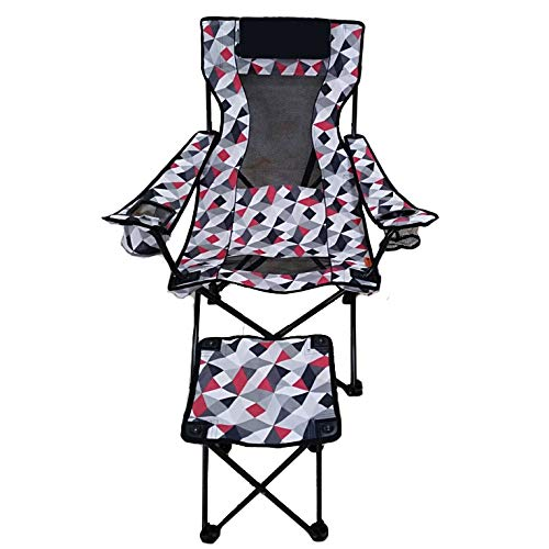 Ozark Trail Lounge Chair with Detached Footrest