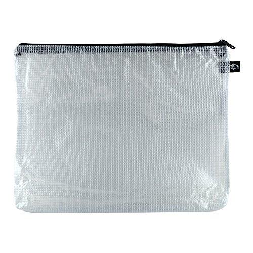 Vinyl Mesh Bag 10 X 13,(Zipper color my vary) - Vinyl Zipper