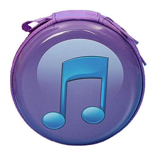 ZTY66 Portable Mini Round Hard Storage Case Bag for Earphone