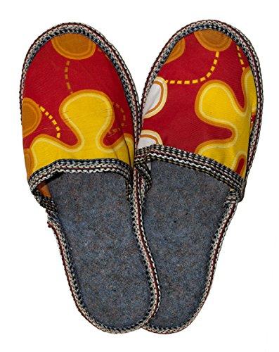42 colori amp;Parodi misura C 43 disponibili ciabatte Parodi 43 pantofole uomo Pantofole 42 donna pantofole BELLA misura donna stoffa da vari PANTOFOLE uomo unisex da da da pantofole ciabatte 188 Eqpq4B