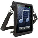 """USA GEAR Kids Proof 7"""" Tablet Neoprene Case with Touch Capacitive Screen Cover & Adjustable Mount / Carrying Strap - Works with Lenovo Tab2 A7-30 , Acer Iconia One 7 , Samsung Galaxy Tab 4 (7"""") & More"""