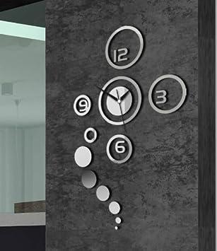 horloge murale moderne design décoratif décoration mural cadeau