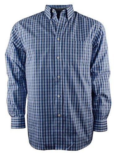 Daniel Cremieux Signature Men's Long-Sleeve Egyptian Plaid Cotton Shirt