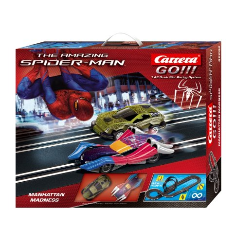 Carrera Go - 20062282 - Véhicules Miniatures et Circuit - Marvel - The Amazing Spider-Man