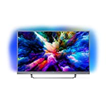 "Smart TV Philips UHD 4K, da 49""/55'' Android, Ultra Slim, Ambilight, anno 2018 [Esclusiva Amazon.it]"