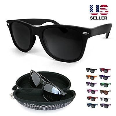 Vintage Retro Aviator Color Frame Wayfarer Sunglasses