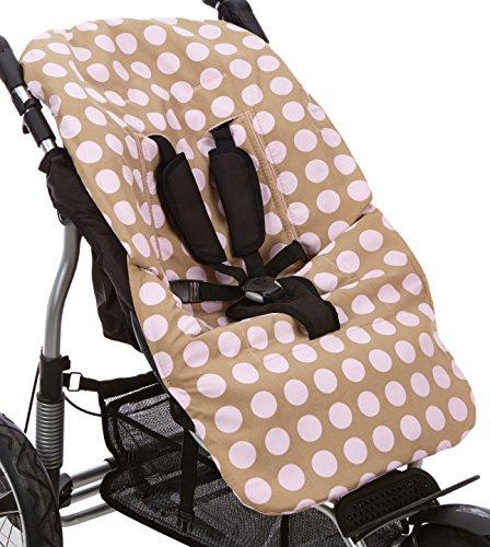 MORA FERRE S.L. 98015-02 Kinderwagens Bezug aus Baumwolle Multifunktional mit Grossen Kunterwegs, rosa