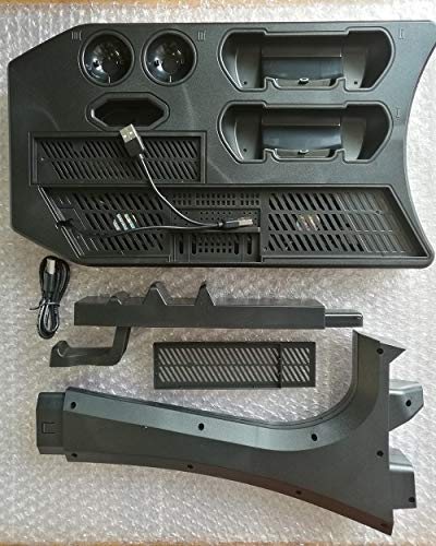 KJH PSVR Multifunction Vertical Stand For PS4,Slim,Pro,PSVR,PSVR2 - Charge, Cool, Showcase, Cooler, Headset Storage… 6