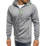Corriee Men Hoodies Male Autum Winter Fashion Long Sleeve Multi Zip Patchwork Sport Hooded Sweatshirt Casual Cardigan Tops