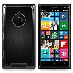 - Gray Pattern - - Cubierta del caso de impacto con el patr??n Art Designs FOR Nokia Lumia 830 Queen Pattern