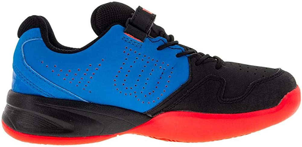 1.5 Wilson KAOS K Tennis Shoes Hawaiian Surf//Black//Fiery Coral