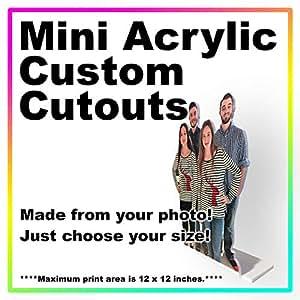 Amazon com: Miniature Custom Acrylic Cutout Standee - Your