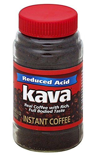 Kava Acid-Neutralized Instant Coffee, 8-Ounce - Coffee Instant Kava