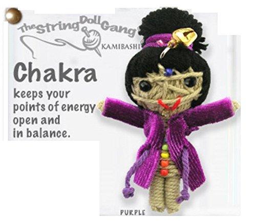 - Kamibashi Chakra Original String Doll Gang Keychain Toy