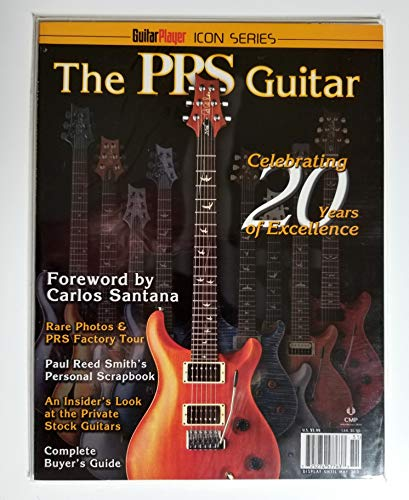 Guitar Player Icon Series The PRS Guitar Celebrating 20 Years of Excellence Paul Reed Smith Anniversary Winter 2005