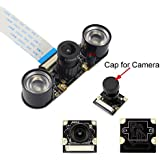 Longruner Camera Module for Raspberry PI 5MP 1080p OV5647 Sensor HD Video Webcam Supports Night Vision For Raspberry Pi 3 model B B+ A+ RPi 2 1 Camera