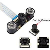 Longruner Camera Module for Raspberry PI 5MP 1080p OV5647 Sensor HD Video Webcam Supports Night Vision For Raspberry Pi 3 model B B+ A+ RPi 2 1 Camera