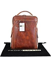 Luxury Italian Hand Made Leather Ladies Classic Style Back Pack Rucksack Briefcase Shoulder Bag. Includes Branded Protective Storage Bag