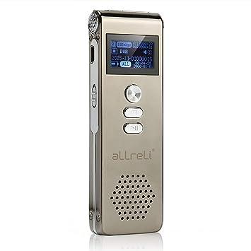 Tragbares Audio & Video Kleine Digitale Mp3 Spielen Audio Voce Recorder 8 Gb Tragbare Mini Sound Rekord Professionelle Aufnahme Gerät Diktiergerät Mit Kopfhörer Digital Voice Recorder