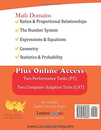 Counting Number worksheets grade 7 math probability worksheets : SBAC Test Prep: 7th Grade Math Common Core Practice Book and Full ...