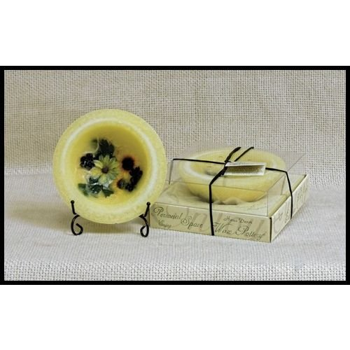 Habersham Personal Space Wax Pottery Vessel- Sunflower Lemon Vanilla 03
