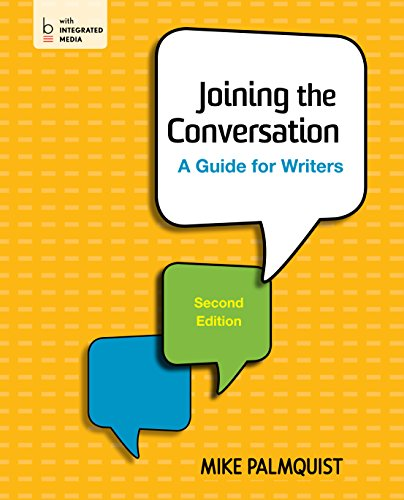 Joining the Conversation: A Guide for Writers Pdf