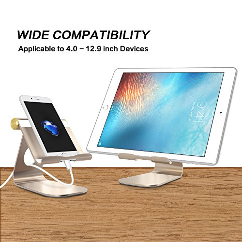 Tablet Stand Multi Angle Aluminum Ipad Stable Sticky