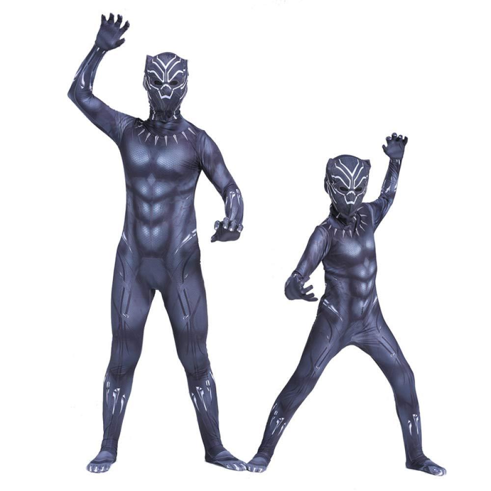 WEGCJU Traje De Black Panther Traje Cosplay Ropa Traje Traje ...