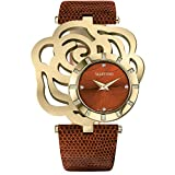 VALENTINO Women's ROSIER Swiss All Stainless Gold Tone 24 Diamonds Strap Watch V55MBQ4144 S497