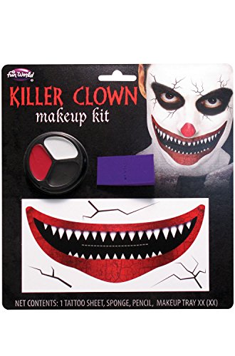 Killer Clown Costume Makeup (Killer Clown Makeup Kit Costume)