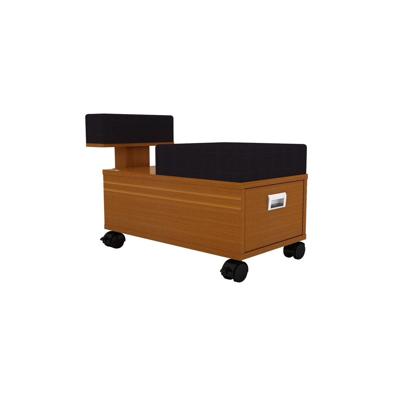 Pedicure Trolley Sedona Pedicure Cart with Foot Rest for Nail Salon and Spa