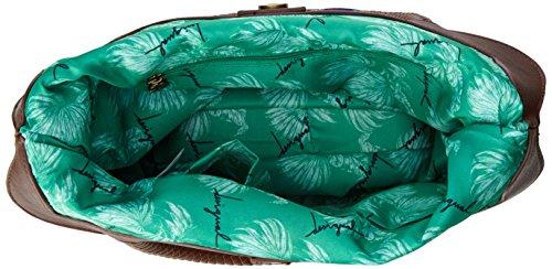 DesigualCordoba Mentawai - Bolso bandolera mujer Verde - Green (New Green)