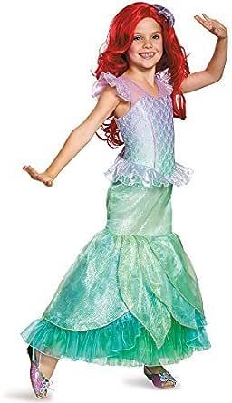 Disguise Storybook Ariel Prestige Costume Medium 7-8