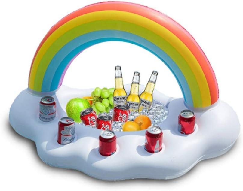 GJYX Nevera Bandeja Enfriador de Bebidas – Accesorios y Decoración para Fiestas de Piscina, Playa, Festival, Barbacoa, Cumpleaños Pirata,5holecupholder: Amazon.es: Hogar