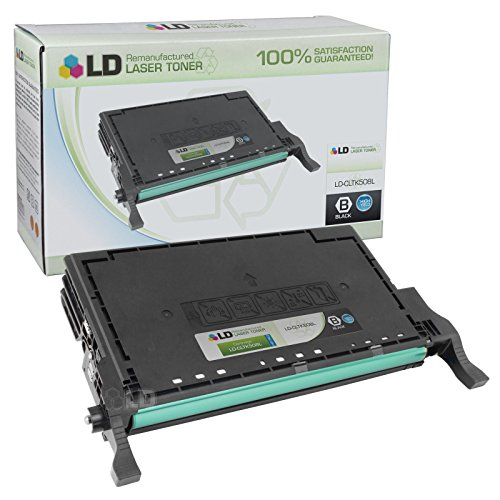 (LD Remanufactured Toner Cartridge Replacement for Samsung CLT-K508L High Yield (Black))