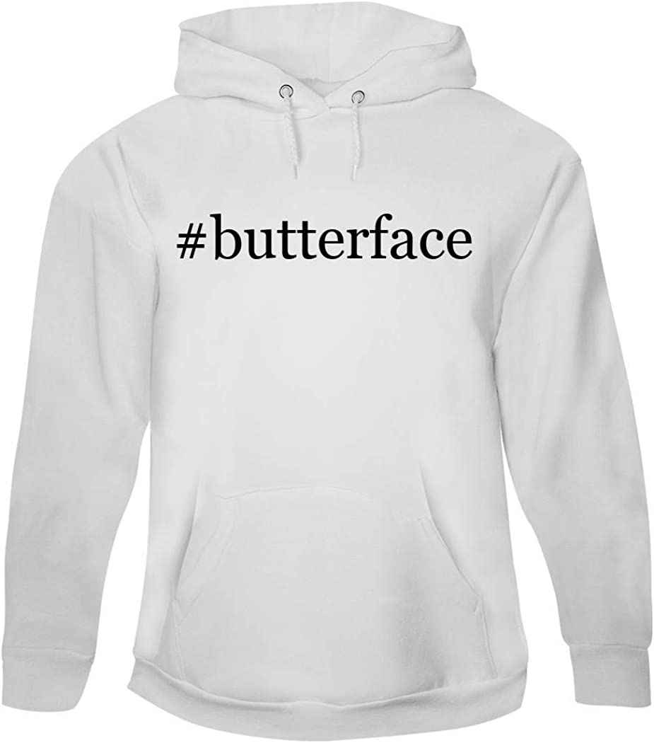 #Butterface - Men's Hashtag Pullover Hoodie Sweatshirt