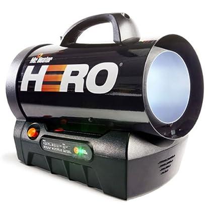 amazon com mr heater hero 35000btu cordless propane heater home rh amazon com Mr. Heater Propane Heater Mr. Heater Parts