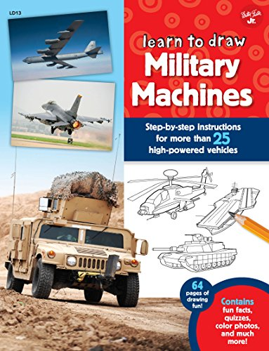 Learn to Draw Military Machines (Tanks To Draw How)