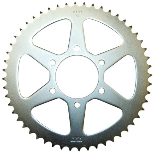 Sunstar 2-210352 52-Tooth Standard Steel Rear Sprocket for 428 Chain