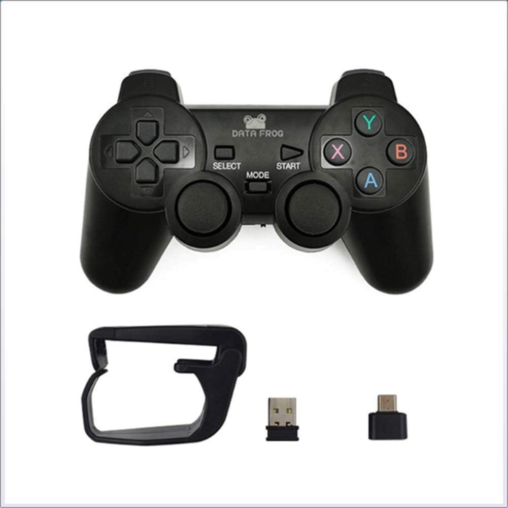 JYL Controlador de Juego móvil, Controlador inalámbrico Gamepad Remoto Compatible, para Ps3 TV Box Joystick 2.4g Controlador de Juego Remoto para Android,A: Amazon.es: Deportes y aire libre