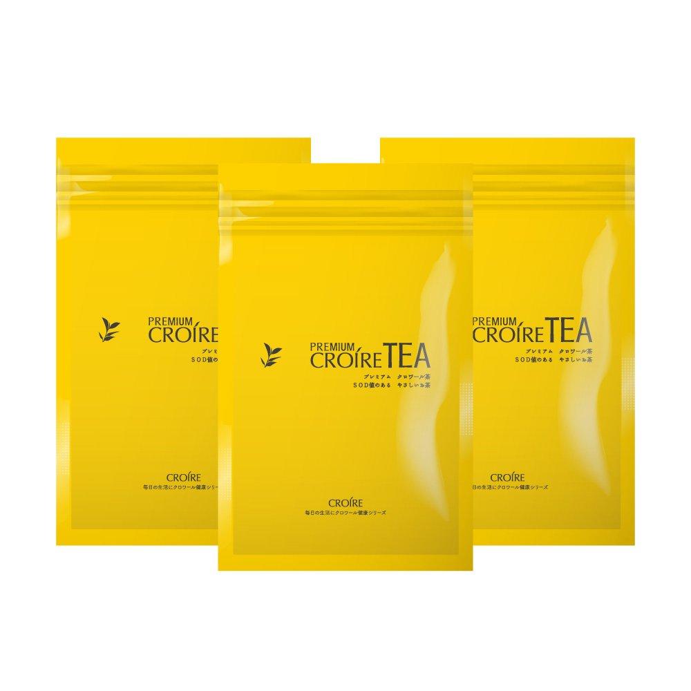 【3袋75包入り】プレミアムクロワール茶(1包3.5g) B01MSW0SDD