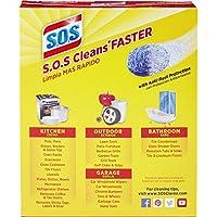 S.O.S Steel Wool Pads - back of package