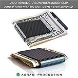 Carbon Fiber Wallet - RFID Blocking Minimalist