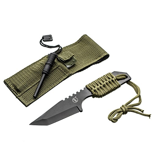 Outdoor Gear (SE KHK6320 Outdoor Tanto Knife with Fire)