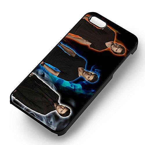 Supernatural Team Free Will pour Coque Iphone 6 et Coque Iphone 6s Case (Noir Boîtier en plastique dur) E5U4IC