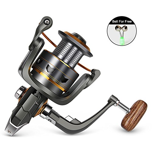 - WATERFLY Fishing Spinning Reel, Lightweight Smooth Powerful Spinning Reel Left & Right Hand Salt & Fresh Water Fishing