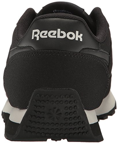 Reebok Mens Cl Renaissance Txt Fashion Sneaker Us-black / Steel / Ghiaia