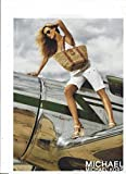 **PRINT AD** With Carmen Kass For 2006 Michael Kors Straw Bags**PRINT AD**
