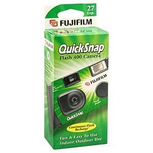 Fujifilm QuickSnap Flash 400 Disposable 35mm Camera