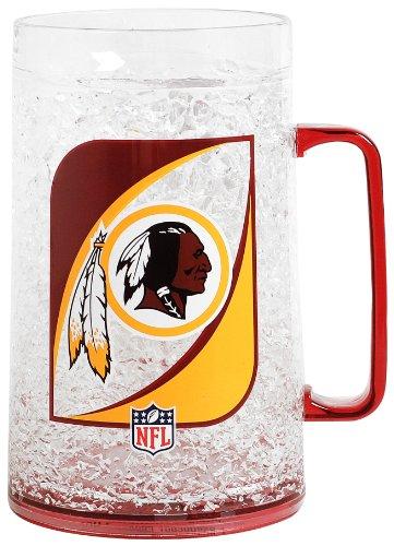 NFL Washington Redskins 36-Ounce Crystal Freezer Monster (Ipod Redskin)